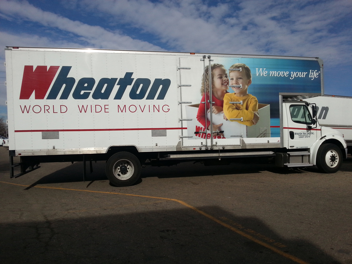 Wheaton World Wide Moving Truck